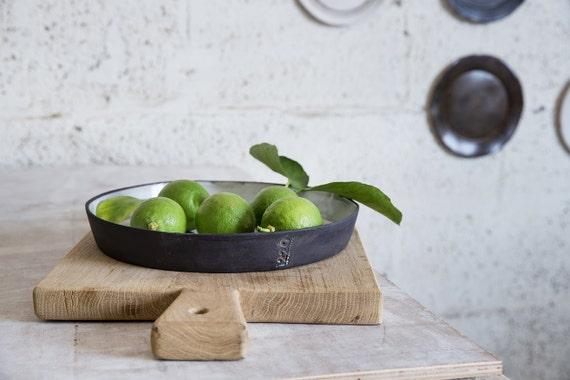 Baking Dish, Pie Plate, Ceramic baking pan, Ceramic Serving Bowl, Ceramic Pie Pan, Wedding Gift Idea, Baking Gift