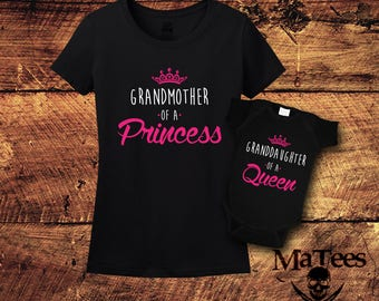 Grandma Gift, Grandmother Gift, Grandmother, Mothers Day Gift For Grandma, New Grandma, Grandma, Gifts For Grandma, Granddaughter, Matching
