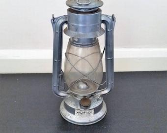 Vintage Hurricane Metal Oil Lamp, Old Paraffin Lantern, Rustic Chalwyn Kerosene Railway Light, Wedding Decor, Hanging Lighting Garden Patio