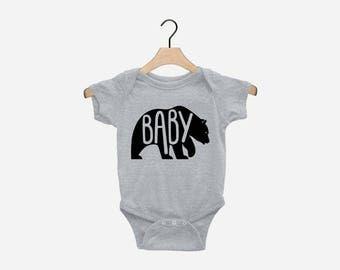Papa Bear Mama Bear Baby Bear Matching Shirts Fathers Day