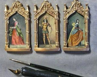 Triptych homage to Zurbarán