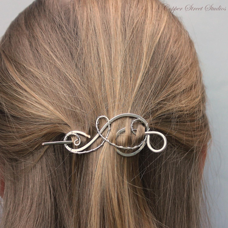 Silver Hair Clip Silve...