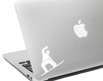 Snowboarding  decal, Snowboard car decal, Snowboard laptop, Snowboard decal, Snowboard sticker, Snowboarder decal, Vinyl decal, Snowboarder