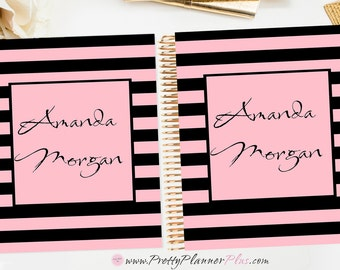 CUSTOM Printable Planner Cover Set, for use with Erin Condren LifePlanner™ and The Happy Planner®,C76