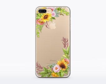 Flower iPhone 6 Case Flower iPhone 6s Clear Flower iPhone 5s Clear Case iPhone 6 Clear Case iPhone 6 Clear Design Clear Phone Case CMCP131