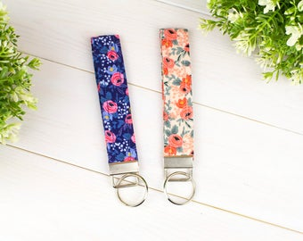 Key Fobs/Wristlets (Spring Floral Collection )