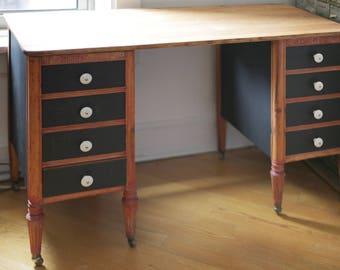 restored antique desk