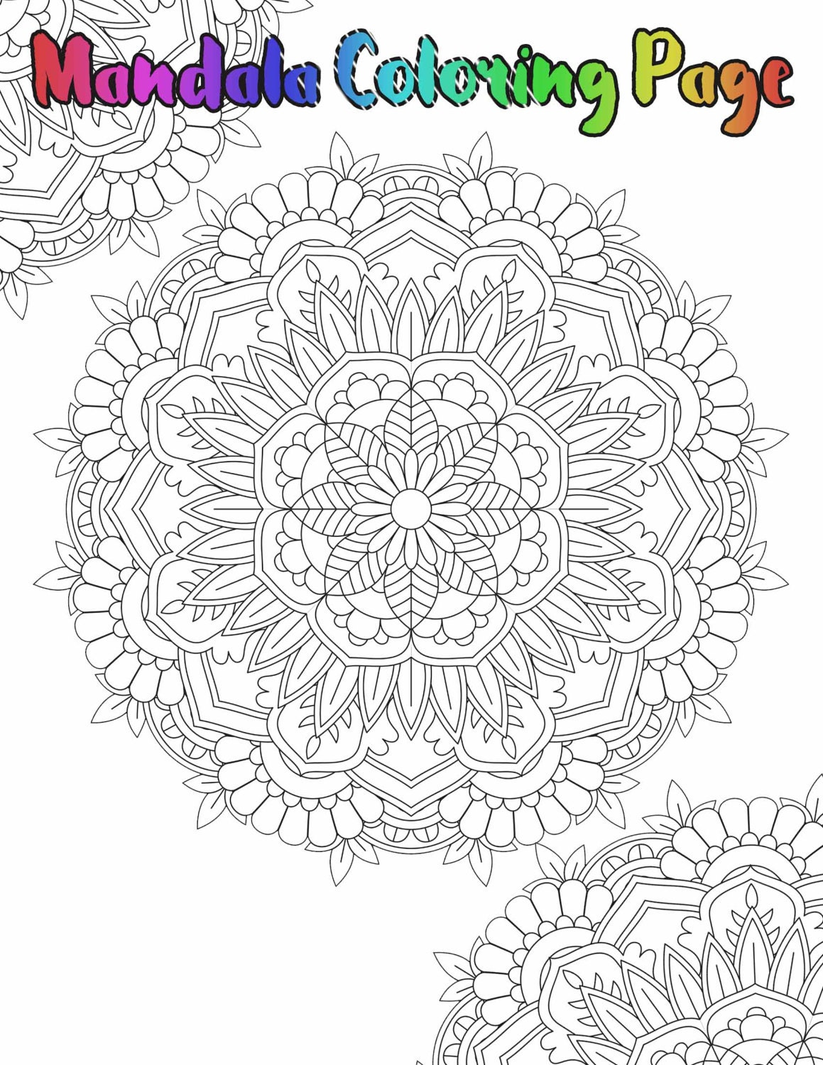 mandala coloring page printable coloring pages 05 from