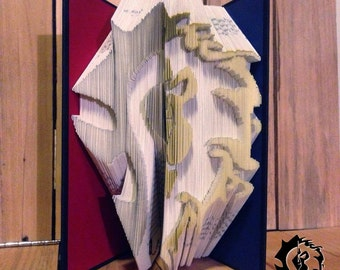 World of Warcraft - WoW - Factions Merged - Folded Book Art