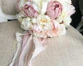 Ivory, cream, dusky pink ...