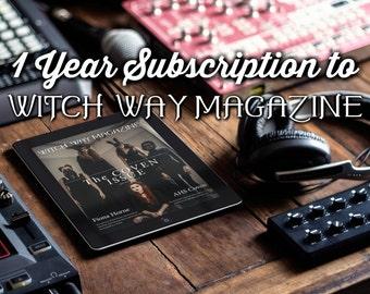 1 Year Digital Subscription to Witch Way Magazine - Pagan E Magazine - Witch Magazine