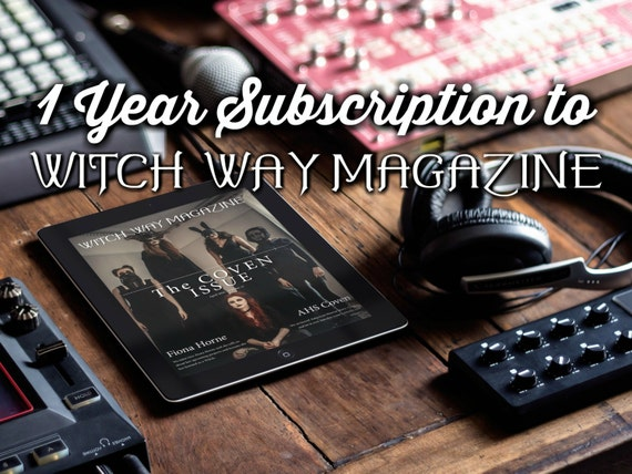 1 Year Subscription to Witch Way Magazine Pagan E Magazine