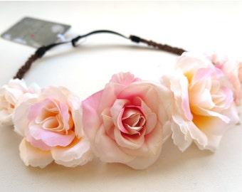 Flower Crown «Bright Roses»