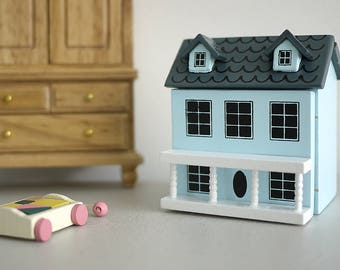 Dollhouse miniature house mini home tiny house-in-a-house