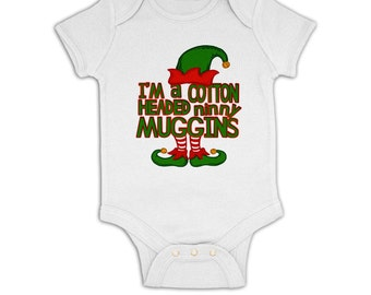 Cotton Headed Ninny Muggins baby grow