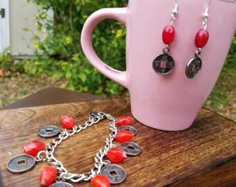 Asian Inspired Bracelet Set
