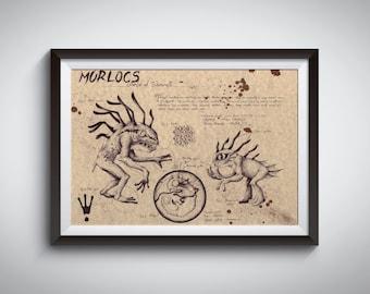 Original drawing - Murlocs - World of Warcraft