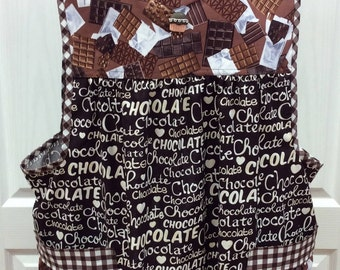 Chocolate Adult Women's XL Apron