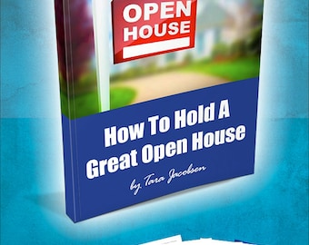 How To Hold A Great Open House Ebook - Realtor Marketing