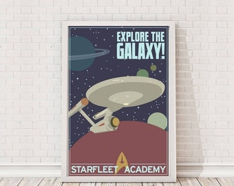 Star Trek Recruitment Poster Art Film Poster Movie Poster