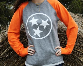 Tennessee Shirt - Tristar Shirt -  Tennessee Football Shirt - UT Vols Shirt - Tennessee Vols - Tennessee - Tennessee Gifts - Volunteers -