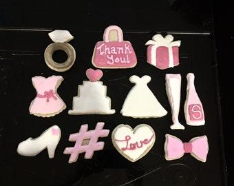 Individually Wrapped Bridal Sugar Cookies