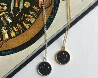 LIBRA NECKLACE. zodiac jewellery - libra constellation necklace - libra zodiac necklace - libra star sign necklace - zodiac - astrology