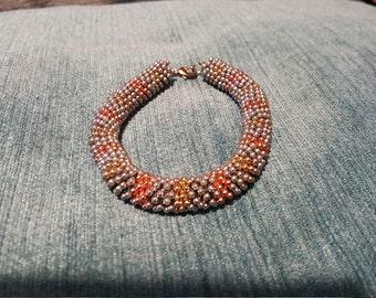 Multi Coloured Snowflake Bracelet