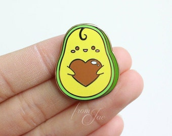 Avocuddle - Hard Enamel Pin
