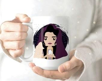 The OA Mug - Khatun The OA Mug - Khatun Mug - Nerd Coffee Mug - Nerdy Mug - Geek Coffee Mug - The OA Gift - Fan Art Mug