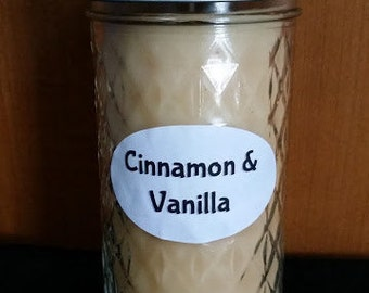 Cinnamon & Vanilla 12 oz. Candle