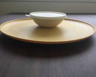 Vintage Tupperware Serving Platter