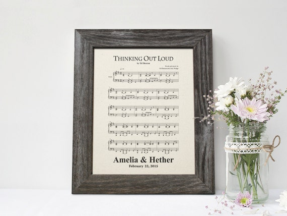 First Wedding Anniversary Gift Ideas For Men: First Dance Song 2nd Anniversary Gift For By