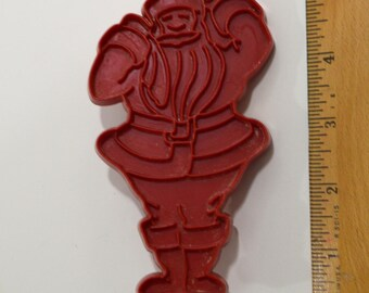 "Vintage TUPPERWARE SANTA CLAUS Cookie Cutter | 1963 4 15/16""  Christmas"