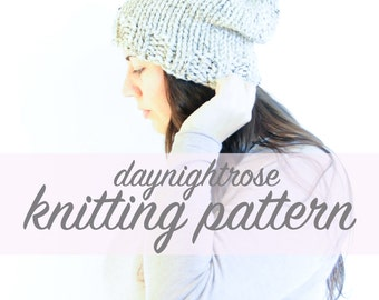The Canmore Slouchy Toque - Knitting Pattern