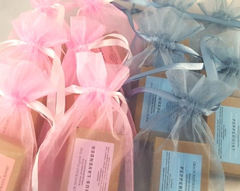 Shower Favors - Baby Shower Favors - Baby Shower Gift  - Organic Soap Gift - Essential Oil Soap gifts