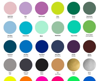 """Siser Easyweed HTV - All Colors Pack - 51 colors with size 10"""" x 8"""" (25 x 20 cm) or 12"""" x 8"""" (30 x 20 cm)"""