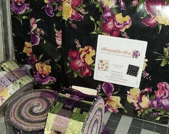 Iris  - Layer Cake - Benartex - Irrestable Iris - 10 pack