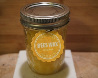 Beeswax Honey Scented Candle 8oz