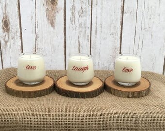 Votive Soy Candles - Candied-Citrus scent