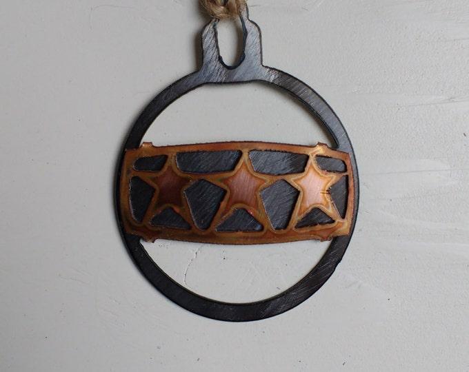 Triple Star Ornament