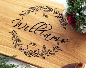 Personalized Cutting Board - Engraved Cutting Board Wedding cutting board wedding gift for couple custom cutting board Wedding Gift Love