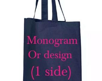 Monogrammed bag, Monogrammed bags, Custom designed bags, Custom design your own,  Custom Bags, Monogrammef Totes, Customize, Monogram bag