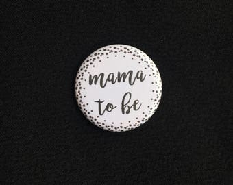 Mother's Day Pin Badge - Assorted Mother's Day Pins - First Time Mother's Day Gift - Mom To Be Grandma to Be Pinback - Grandmother Gift