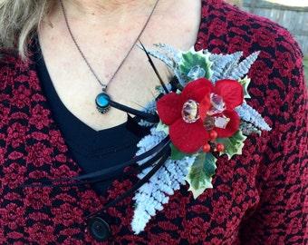 Winter Holiday Themed Pin