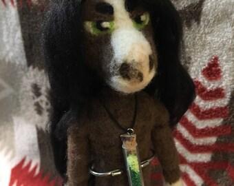 Needle Felted Anthro Horse Art Doll