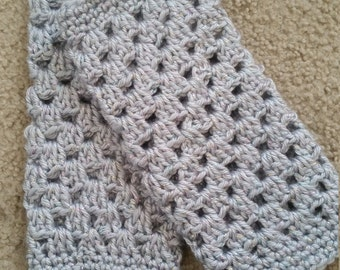 crochet baby/toddler leg warmers