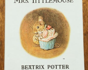 Beatrix Potter Book -The Tale of  Mrs Tittlemouse