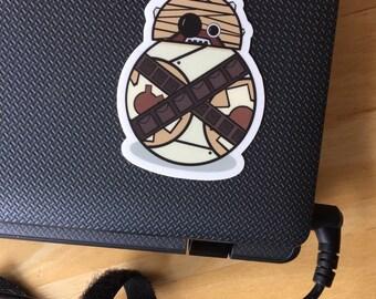 BB-8/Tusken Raider Star Wars vinyl sticker