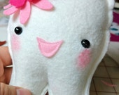 Tooth Fairy, Super Hero, Mustache Prince, Princess, Flower tooth pillow, You choose 1